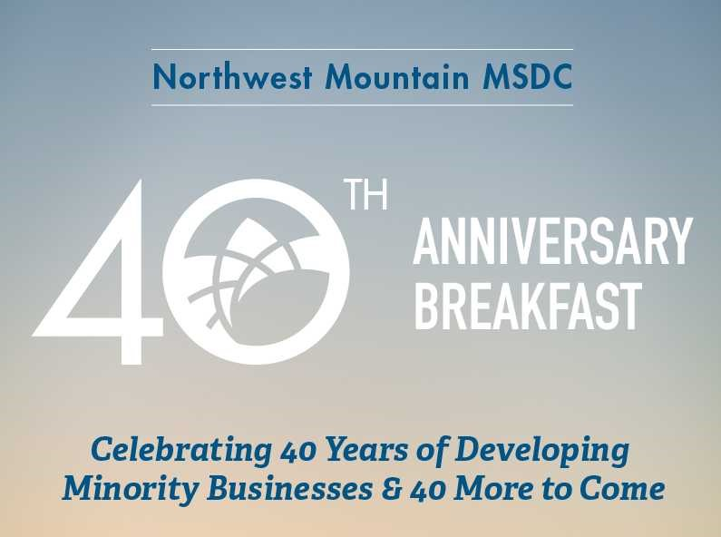NWMMSDC 40th Anniversary Breakfast Presentation