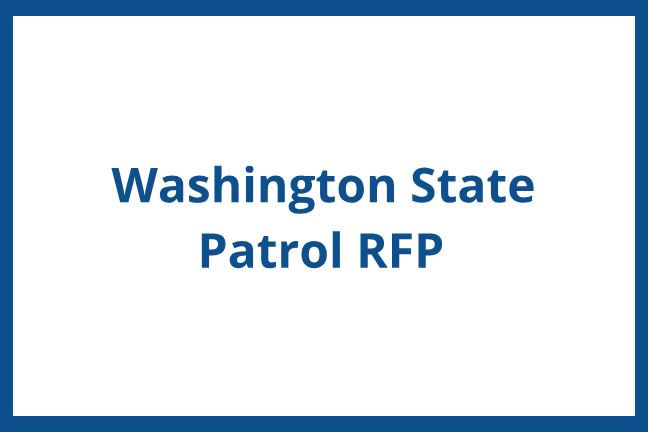 WA State Patrol DEI Contract - Request for Proposal (RFP)